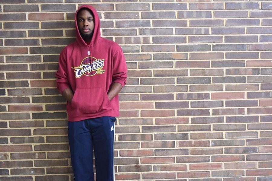 Junior Reggie Burns transferred to West in 2016.