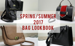 Featured bags for the Spring/Summer lookbook.