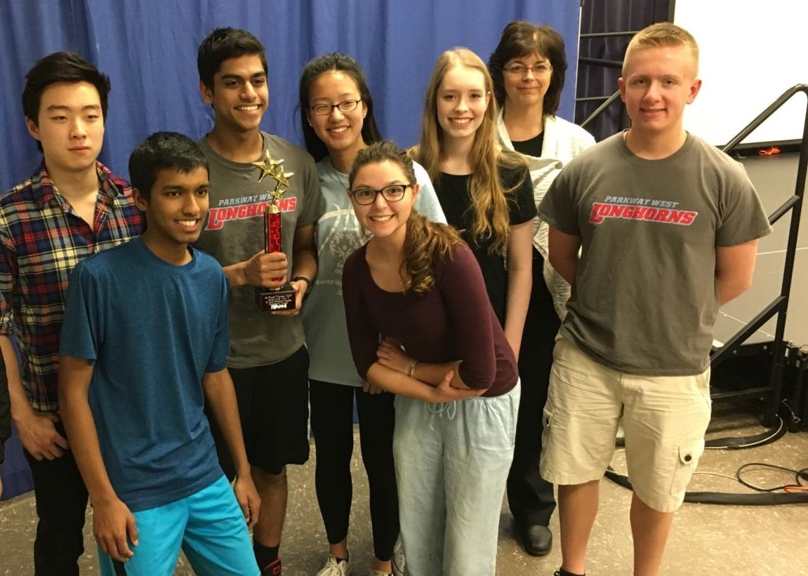 The Parkway team finishes first in local competition at St. Louis Community College, becoming state champions.