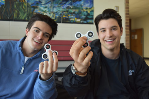 Fidget spinner epidemic takes over classrooms