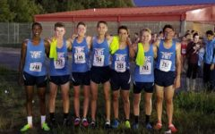 Boys cross country team take on Memphis Twilight Classic