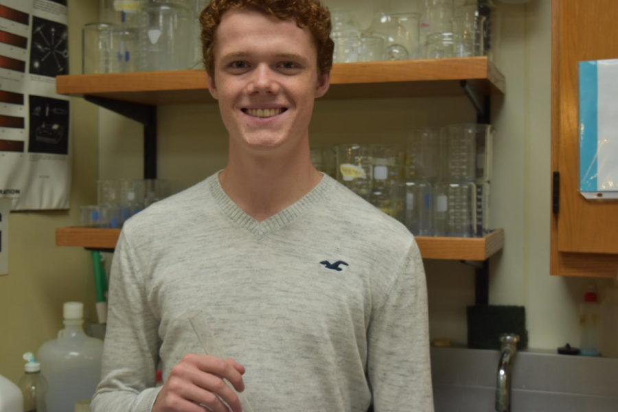 """WUSTL has an amazing lab, and I'm so grateful that I was given the opportunity to use and research in it,"" senior Nick Bateman said."