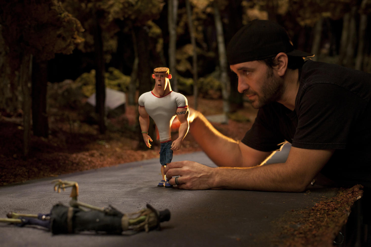 Schiff+positions+a+character+from+Paranorman.+It+was+released+in+2012+by+Laika.