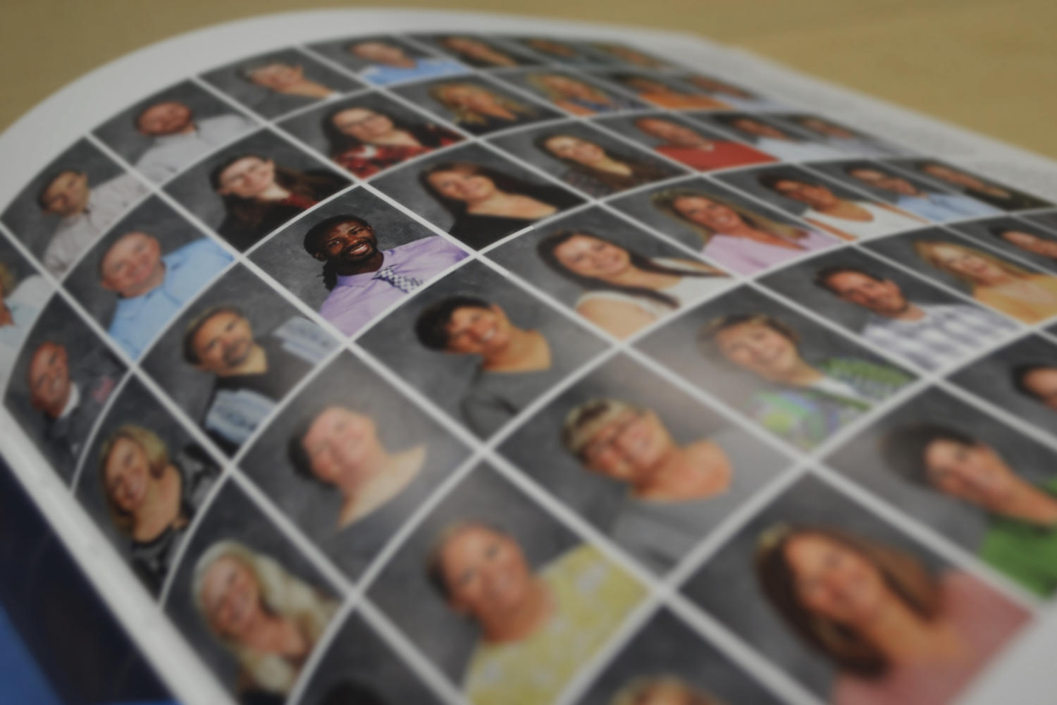 Flipping through the staff pages of the 2017 yearbook, only eight percent of faculty members are people of color.