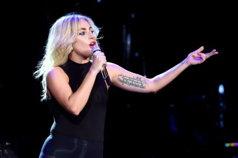 Singing at Coachella this year, Lady Gaga performs songs from her latest album, Joanne. She was the headliner for the music festival in Southern California on Saturday, April 15 and 22.