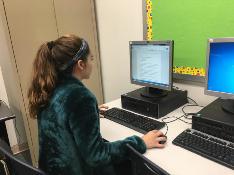 Honors English students strive to complete a novel in the month of November