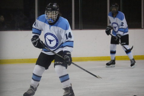 Freshmen Ty Waddell and Danny Talbott score a spot on varsity hockey
