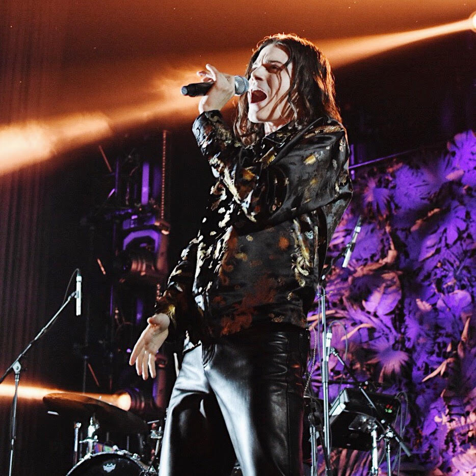 Garrett Clark Borns, the lead singer of the band BØRNS, performed in St. Louis on Jan. 30 at the Pageant. Dressed in leather, Borns paraded around the stage while singing over the sound of screaming fans.