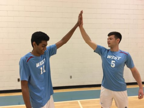 The boys volleyball team is optimistic heading into the season