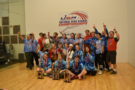 Parkway Racquetball Team Wins Nationals in Portland, OR