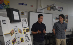 Marketing students pitch real ideas