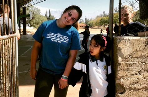Junior Kelly Wehrmeister builds an orphanage for children in Bolivia through HEFY