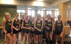 Field Hockey team attends training camp at the University of Iowa
