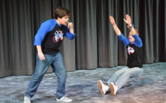 A perfect storm: Running with Scissors Improv show receives thunderous applause