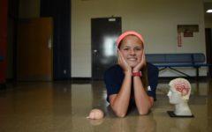 Freshman Giselle Bauer overcomes brain tumor