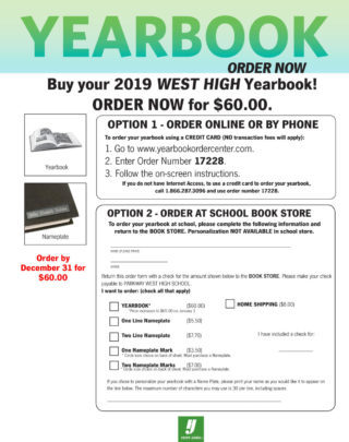 Yearbook Order Center