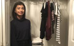Sophomore Ayesha Malik dons minimalist lifestyle