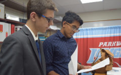 Senior Gokul Venkatachalam and sophomore Tyler Kinzy address mental health concerns at the state-level
