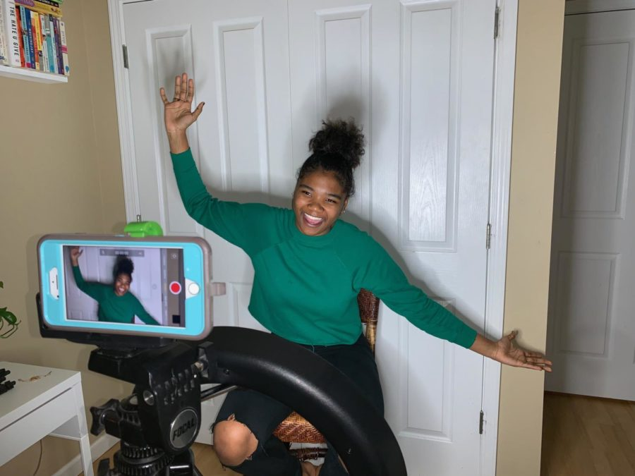 Ending+her+video+on+a+happy+note%2C+Aaliyah+sends+her+viewers+off+with+a+cheer.+Weston+joined+Youtube+in+2012%2C+and+has+since+accumulated+more+than+4%2C000+subscribers.+%22I+just+think+making+videos+is+a+fun+hobby.+It+has+gotten+me+a+lot+of%0Aopportunities%2C%22+Weston+said.+%22I+really+want+to+be+an+actress%2C+but+as+a+side+hobby+it+is+a+really+wonderful%0Athing+that+I+get+to+do.%22