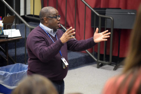 "Choir director Eric Anthony sings ""so long, farewell"" to his time as an educator"