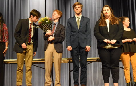 Debate team dominates districts tournaments