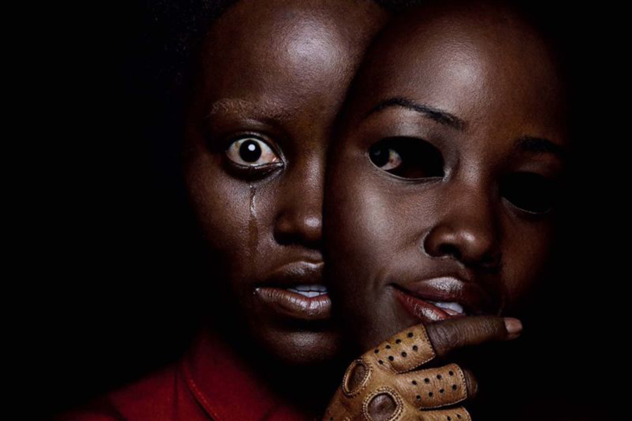 Lupita Nyong'o as Red in a promotional poster.