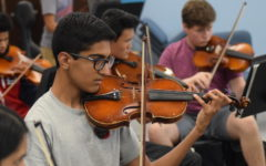 Seniors reflect on the time spent with their instruments during high school