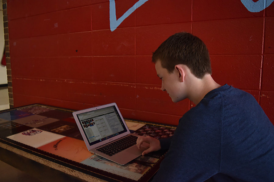 Freshman Connor Gusky merges sports and math to create Sports Analytics Club