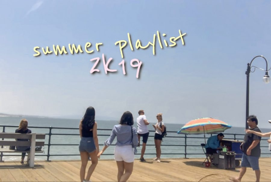 Imagine yourself listening to this playlist as you shop, sunbathe, or even fish on the Santa Monica Pier.