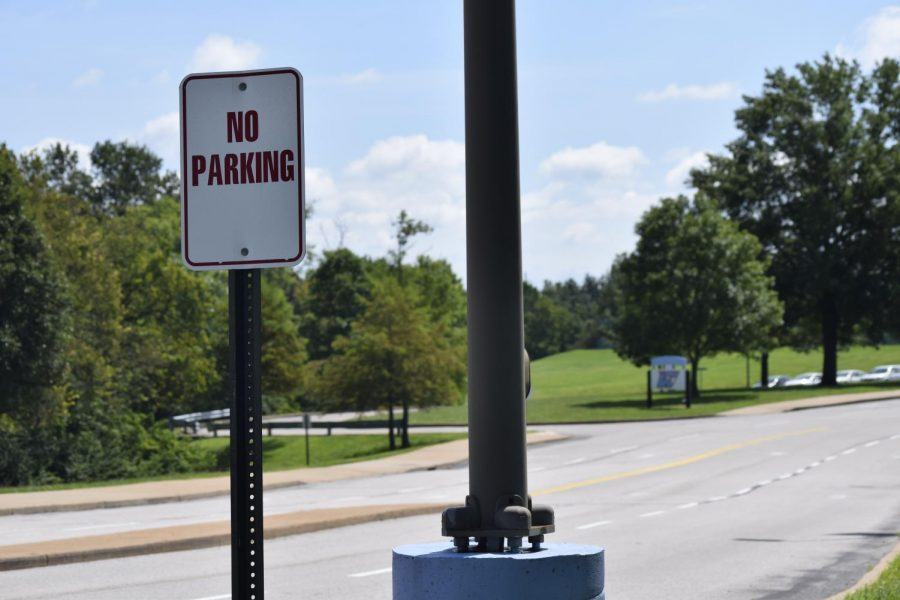 """With increased enrollment, 380 students were allowed to pay $85 for a parking permit. There are currently no more spots being sold. """"Based on however many junior and senior parking permits we give out at the beginning of the year, will usually determine how many more spots we have to sell for the rest of the year,"""