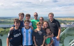Sophomore Santi Helbig learns to embrace his new life in Germany