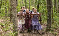 Sophomores Izzie Finlinson, Will Bonnett and Emily Voyles take the trek of their ancestors