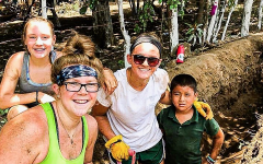 Sisters Quinn Berry and Reese Berry left their hearts in Nicaragua during their church mission trip
