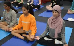 New Yoga class relieves students minds