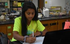 Senior Anjali Shah continues her journey of STEM learning