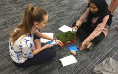 Coding robots to understand point of view: English students bring technology into the classroom