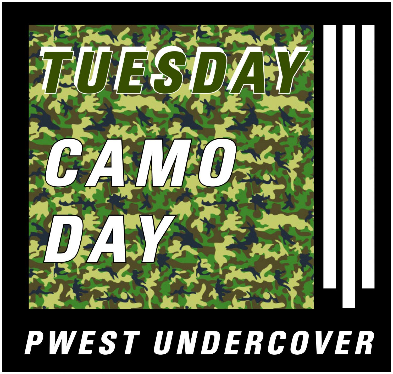 Camo+Day+is+Tuesday%2C+Sept.+10.