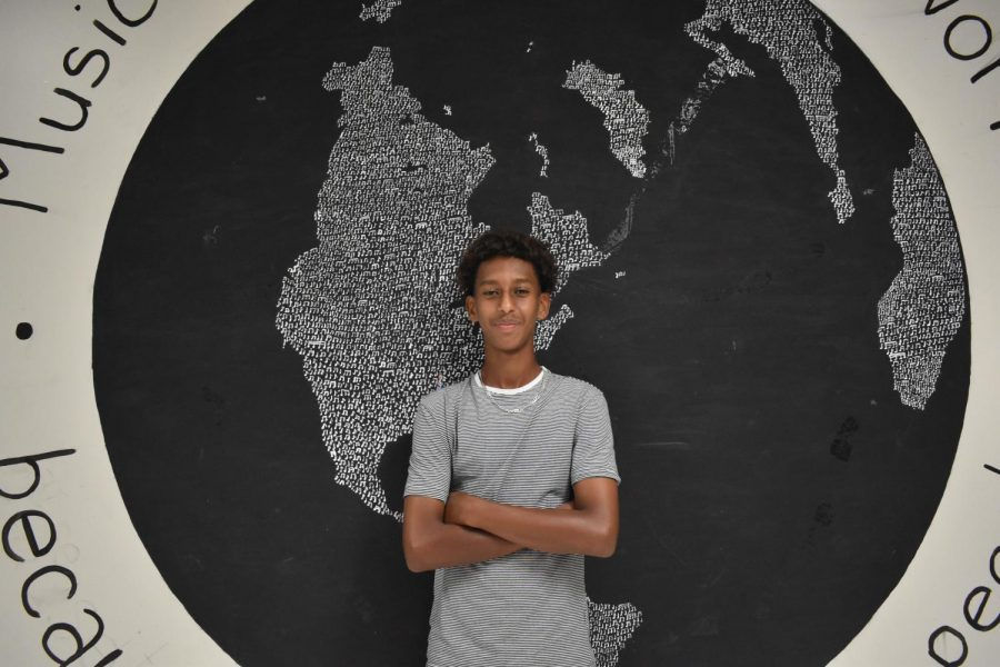 """""""I was born in Ethiopia, so when I moved here I was forced to learn a whole new language and speak it on the regular, yet at home I was also still expected to speak Amharic with my family,"""