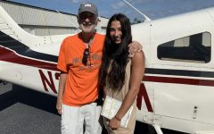 Senior Alexis Nadreau lands herself a pilot license