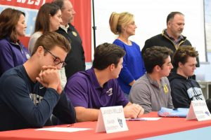 Seniors commit to their choosing on College Signing Day