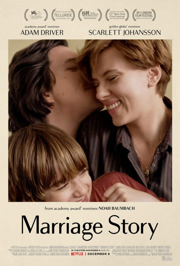 Actors+Adam+Driver+and+Scarlett+Johansson+star+in+%22Marriage+Story%2C%22+premiering+Nov.+7+at+8+p.m.+at+the+St.+Louis+International+Film+Festival.+