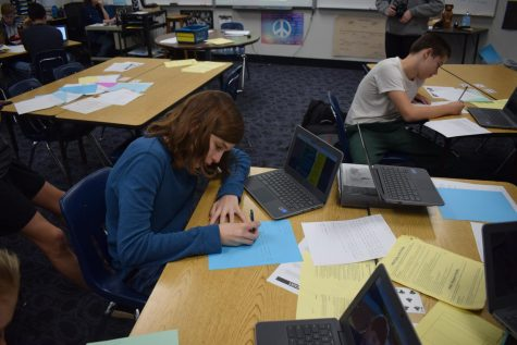 AP Human Geography classes write letters to foreign governments in hopes of change