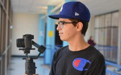 Senior Ismail Hacking pursues his passion for videography