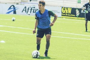 Professional soccer player Jansen Miller prepares for his collegiate career at Xavier University