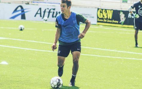 Professional soccer player Jansen Miller prepares for his collegiate career at Xavier University