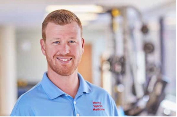 Matt Berning worked as the athletic trainer for more than four years, but is now leaving high-school specific work behind. Berning has taken a position at the Mercy Sports Clinic with Orthopedic Surgeon Dr. Julienne Lippe.