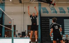 Sophomore Ethan Jennings unites with his team to obtain a bid for the USA Volleyball National Championship