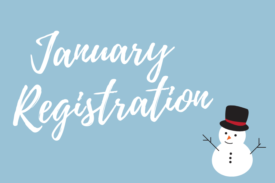 Counselors ensure students remember the importance of taking January registration seriously.