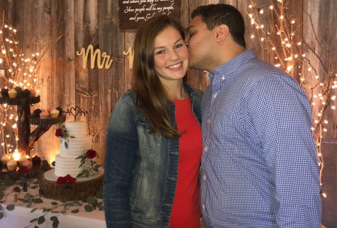 Taking the next step: senior Mollie Wright gets engaged at 18