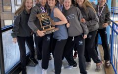 Girls swim and dive team wins thirteenth state title